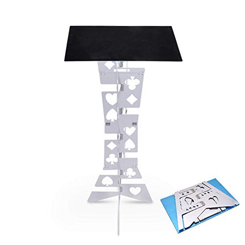 Doowops Aluminum Magic Folding Table (Alloy), Magician's Best Table, Stage, Close-up, Illusions, Accessories ()