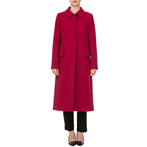Blugirl Cappotto Lana 677500030 Rosso Donna FlcTK1J