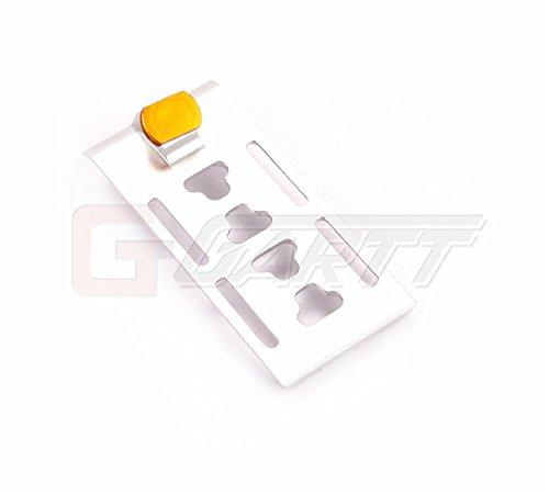 GarttGARTT 450L metal electronic parts tray Fits Align Trex 450L RC ()