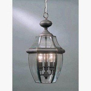 Quoizel NY1180Z  Newbury 4-Light Outdoor Lantern, Medici Bronze - Newbury Newbury Outdoor Fixture