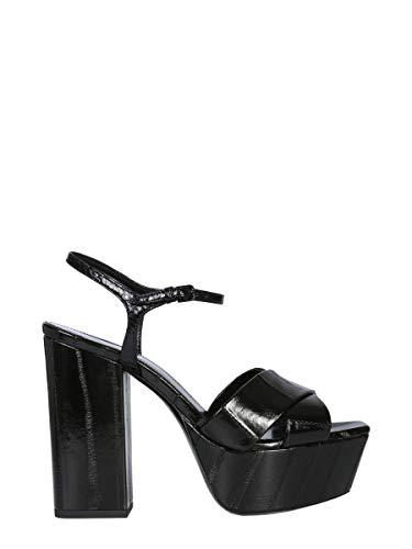Saint Sandales Laurent 5404850wx101000 Femme Noir Cuir rywrAYqf