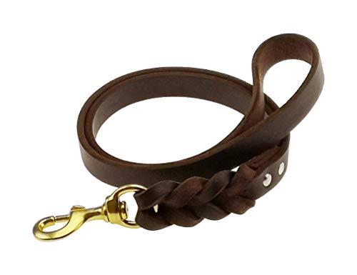 teck Genuine Leather Short Braid