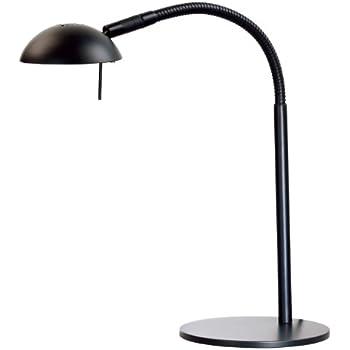 Awesome Kenroy Home 20971BL Basis Halogen Desk Lamp, Black