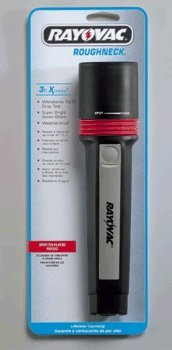 Batteries Flood 2aa (Rayovac Industrial Grade 11 Lumen 2AA Flashlight with Batteries (R2AA-BB))