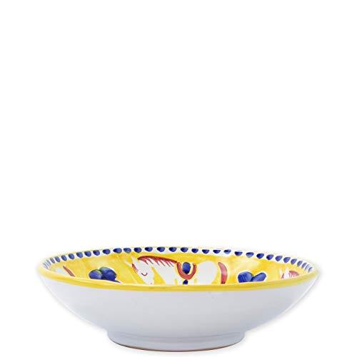 Vietri Cavallo Coupe Pasta Bowl - Campagna ()