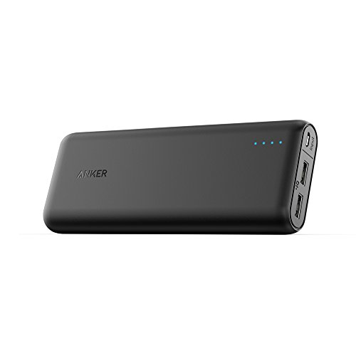Anker PowerCore 20100 - Ultra High Capacity Power Bank with 4.8A Output, PowerIQ Technology for iPhone, iPad and Samsung Galaxy and More (Black)