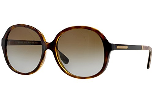 Michael Kors Tahiti Sunglasses MK6007 3010T5 Dk Tortoise Snake Brown Gradient Polarized 58 17 ()