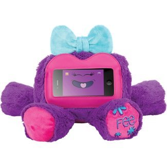purple bear ipod case - 1