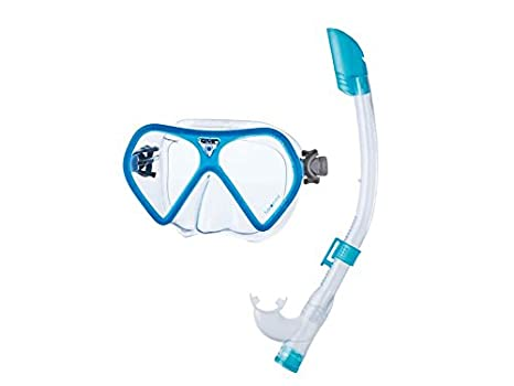 SEAC Fusion Mask and Snorkel Set-Clear//Yellow