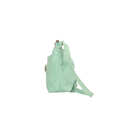 Chicca Borse Piel genuina bolso 29x17x8 Cm puerto pequeño
