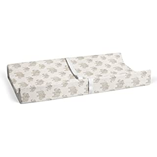 "Glenna Jean Elephant Herd - Natural 16"" x 32"" Changing Pad Cover for Baby Nursery"