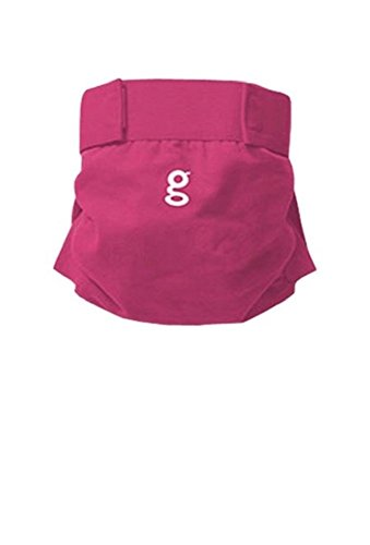 GDLAPERS G Pants Baby Cotton Diaper Cover Pants Pink (S) by GDLAPERS