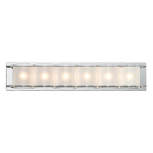 85off Possini Euro Design Glass Bands 23 38 Wide Bath Light Www