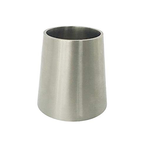 3A Stainless Concentric Reducer Sanitary SS304 Weld End (2