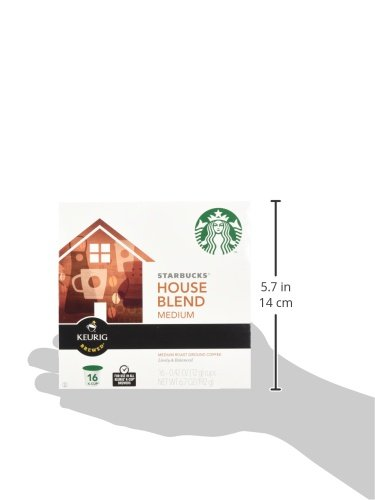 Starbucks House Blend Medium Roast Coffee Keurig K-Cups