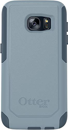 OtterBox Commuter Series Case Compatible with Samsung Galaxy S7 (ONLY) Whetstone Blue/Tempest Blue