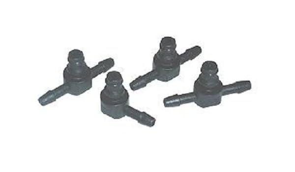 Diesel Fuel Injector Overflow Line Plug