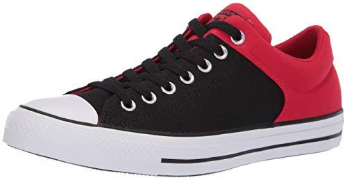 08e93776 Converse Men's Unisex Chuck Taylor All Star Street Colorblock Low Top  Sneaker, Enamel Red/Black/White 8.5 M US