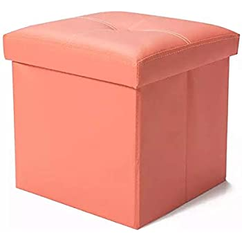 Amazon Com Folding Cube Storage Organizer Ottoman Seat Baby