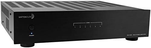 Dayton Audio MA1260 Amplifier Multi-Zone, 60WPC, 12 Channel