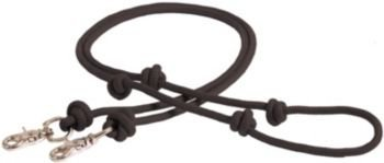 Mustang Poly Rope Contest Rein 8ft Black