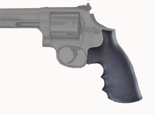 Hogue Rubber Grip S&W K or L Round Butt Rubber Conversion Style Monogrip ()