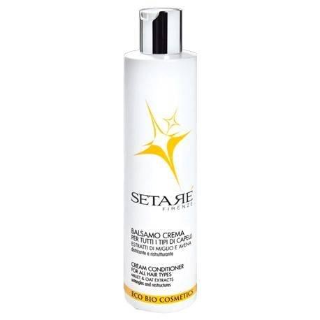 SETARÈ - Bálsamo de crema para todos los tipos de cabello - con extracto de leche