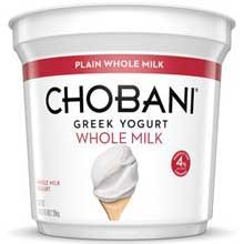 chobani yogurt plain - 6