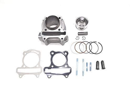 Chanoc 100cc Big Bore 50mm Cylinder Rebuild Kit for GY6 50cc ATV Moped Scooter 139QMA 139QMB