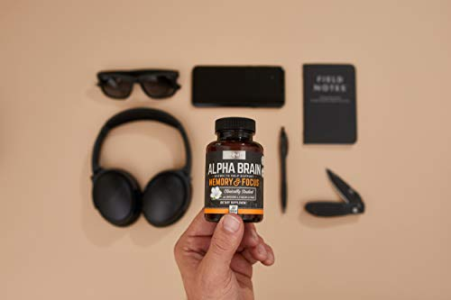Onnit Alpha Brain: Clinically Studied Nootropic for Memory, Focus, and Mental Clarity (180ct) by ONNIT (Image #5)