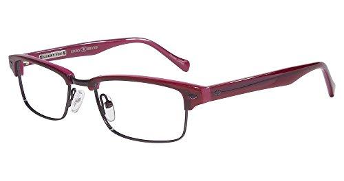 LUCKY BRAND Eyeglasses EMERY Burgundy - All Eyeglasses Brand