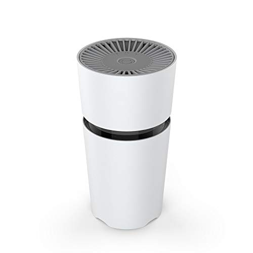 Jaywayne Air Purifier for Home with True HEPA Filters, 2019 Upgraded Design Low Noise Portable Air Purifier,Desktop USB Air Cleaner, Air Ionizer Freshener. M5 (Best Room Air Freshener 2019)