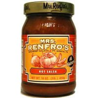 Renfro Fine Foods Salsa, Hot, 16-Ounce (Pack of 6) by Renfro Fine Foods (Image #1)