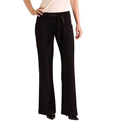 Jag Jeans Women's CeCe Palazzo Wide Leg Double Knit Ponte...