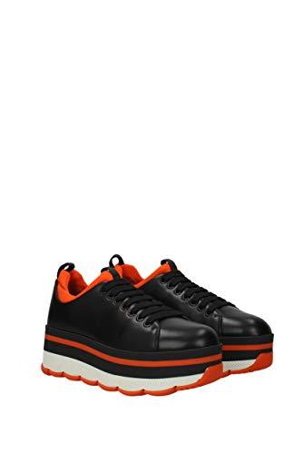Prada Eu Donna 3e6264vitsoft Pelle Nero Sneakers 8qC8P