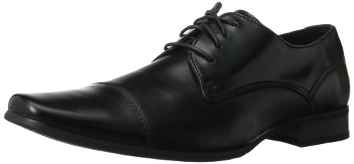 Calvin Klein Men's Bram Oxford, Black, 11 M US by Calvin Klein