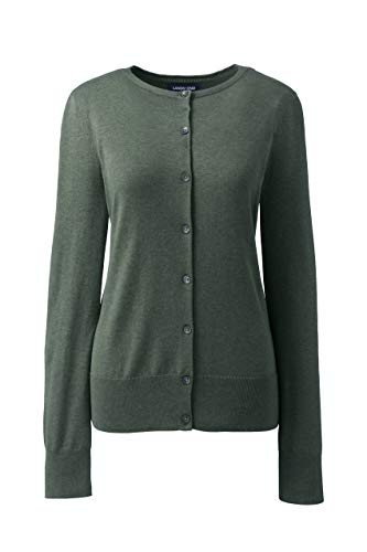 Lands' End Womens Cardigan Sweater | Supima Cotton Cardigan Sweater for Women ()