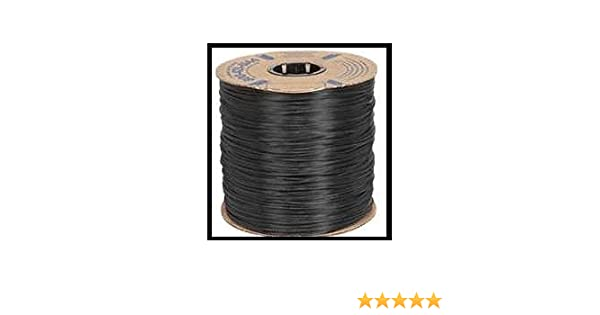 Screen Spline Flat Black Vinyl Spline .310-1000 ft roll Pool Cages Windows