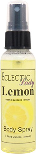 Lemon Body Spray, 2 ounces