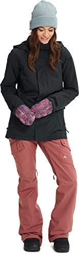Burton Women's Jet Set Jacket, True Black Heather, X Small