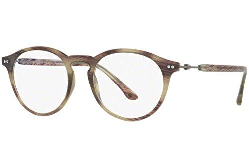 Eyeglasses Giorgio Armani AR7040 5587 round frames Size - Armani Eyeglasses Men Giorgio