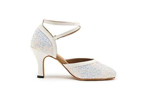 Miyoopark - salón mujer White-8cm Heel