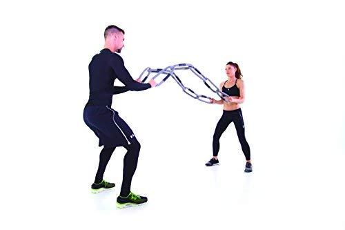 Reaxing Reax Chain 6 Kg, Pesas flexibles, Peso suave para entrenamiento funcional, Verde, 5 anillos, 3 piezas: Amazon.es: Deportes y aire libre