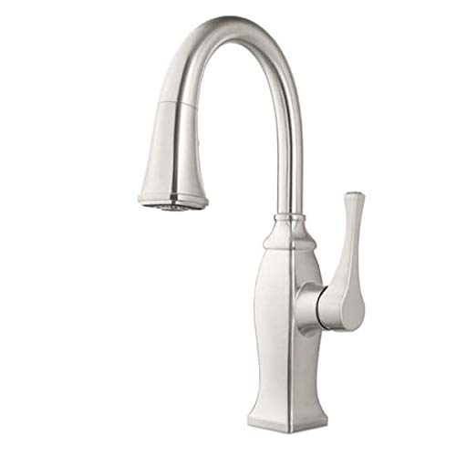 Pfister GT529-BFS Briarsfield Pullout Spray Kitchen Faucet with AccuDock Technology