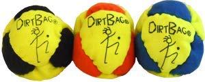 Dirtbag Classic Footbag 3 pack Fluorescent Yellow/OrangeCombo by Dirtbag
