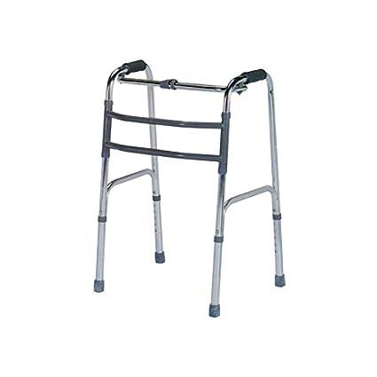 Articulada plegable marco a pie con doble barra: Amazon.es: Salud ...