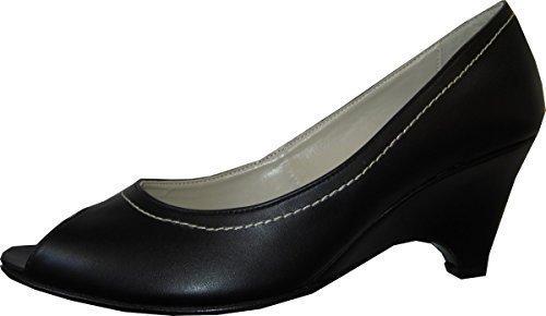Alba Moda Women's Sandalette Fashion Sandals Black FiJZB