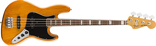 Fender Vintera '70s Jazz Bass - Pau Ferro Fingerboard - Aged Natural