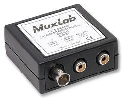 Muxlab 500001 STEREO AUDIO + BNC VIDEO BALUN by Muxlab
