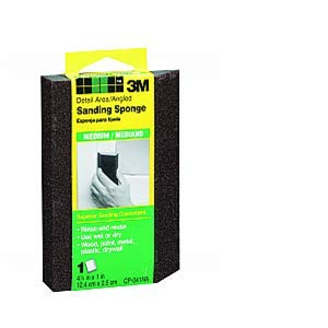 3M CP041-12-CC Medium Angled Sanding Sponge - 24ct. Case